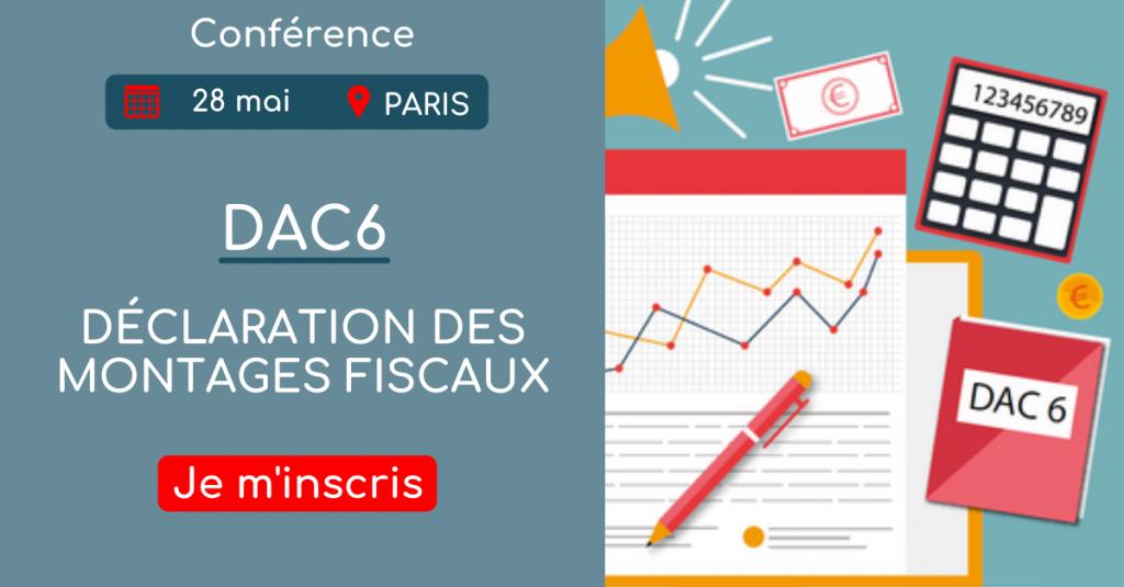Conférence DAC6 : Mise en pratique pour faire face au 1er juillet 2020